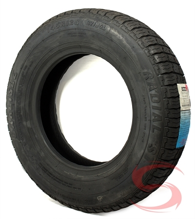 ... /R12 Carlisle Radial Special Trailer Tire Load Range D free shipping