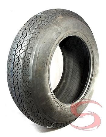ST205/75D14 Towmaster Bias Ply Trailer Tire LRC, 1760 lb Max Load